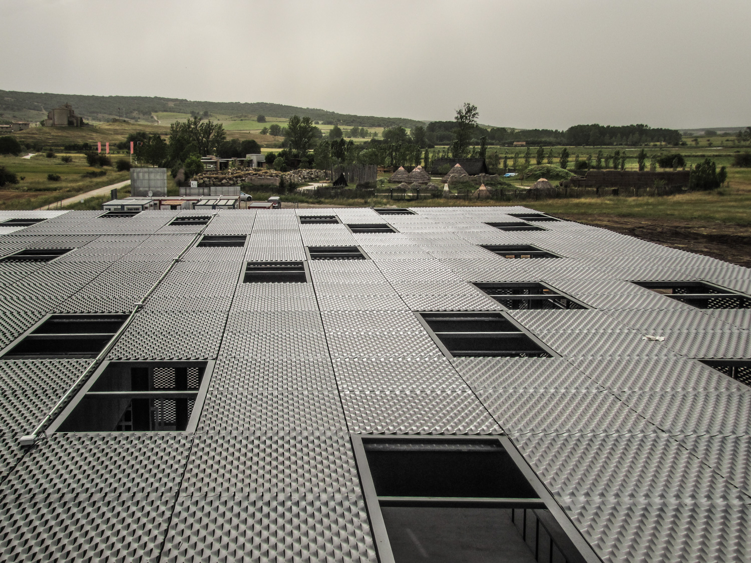 Centro de recepci n de visitantes al yacimiento de - Estudio arquitectura valladolid ...
